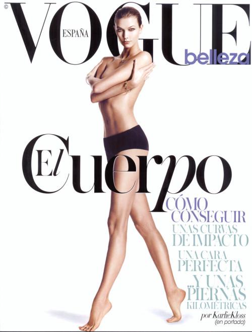 Vogue belleza Karlie Kloss – Pablo
