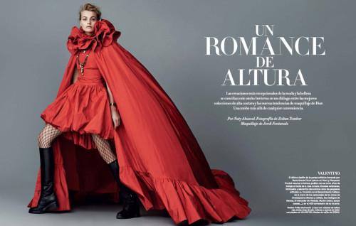"""Harper's Bazaar Fw """"Un romance de altura"""" – Jordi Fontanals"""