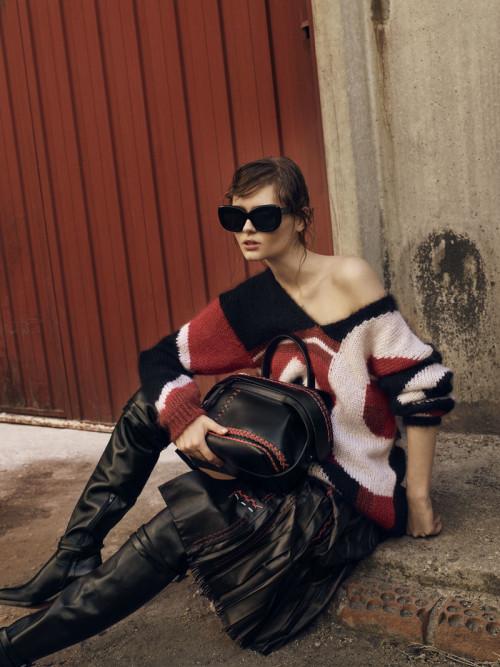 Mujer Hoy piel fashion woman – Jose Herrera