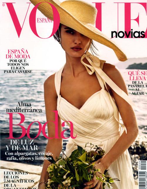 Vogue Novias Blanca Padilla – Jordi Fontanals