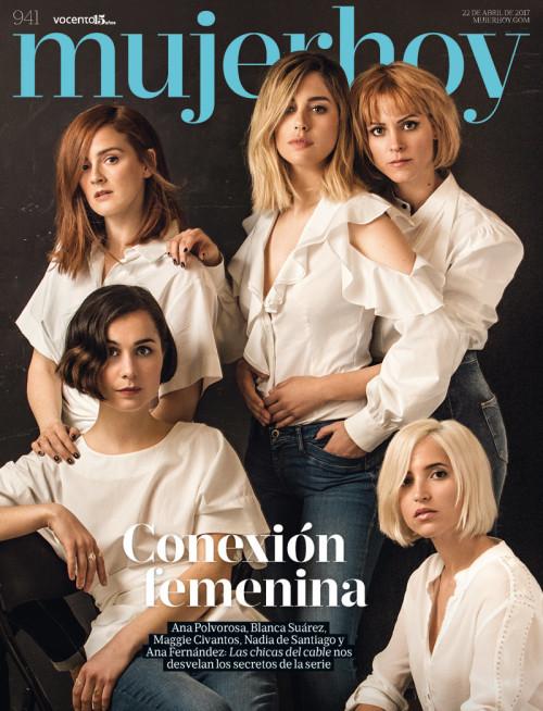 Mujer Hoy 941 Las chicas del cable – Natalia, Pedro y Jose