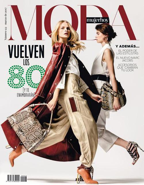 Mujer Hoy moda 23 Portada Home – Jose Herrera, Natalia Belda y Raquel Alvarez