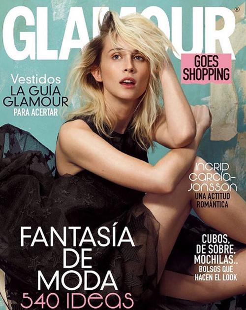 Glamour Portada Ingrid Garcia – Leo Pereira
