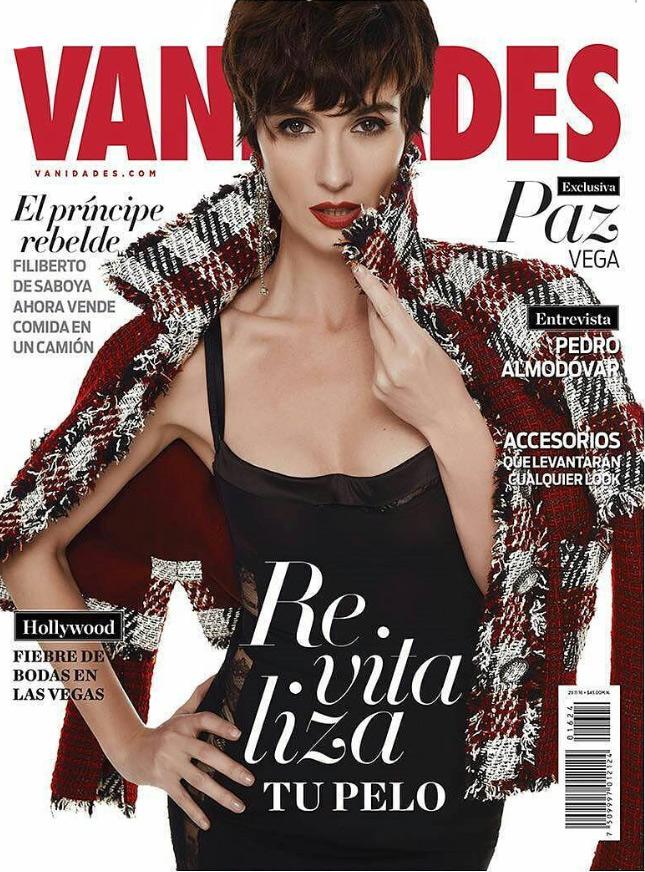 Vanidades Paz Vega home – Raquel Alvarez
