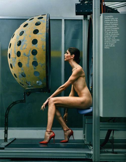 Vogue Dafne Cejas- Manu Moreno