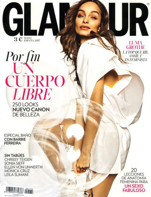 Glamour Mayo Portada – Pablo