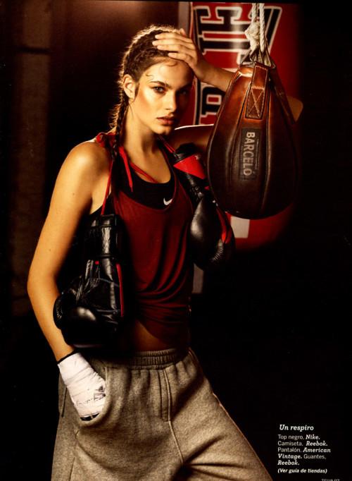 Telva Fitness boxeo – David