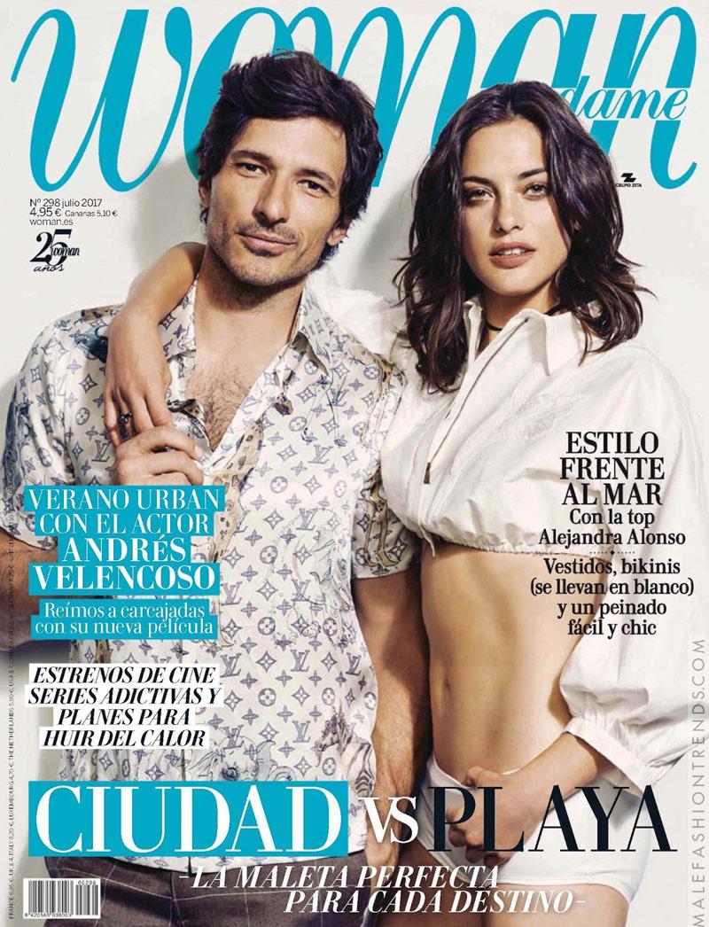 Woman Andres Velencoso home – Natalia