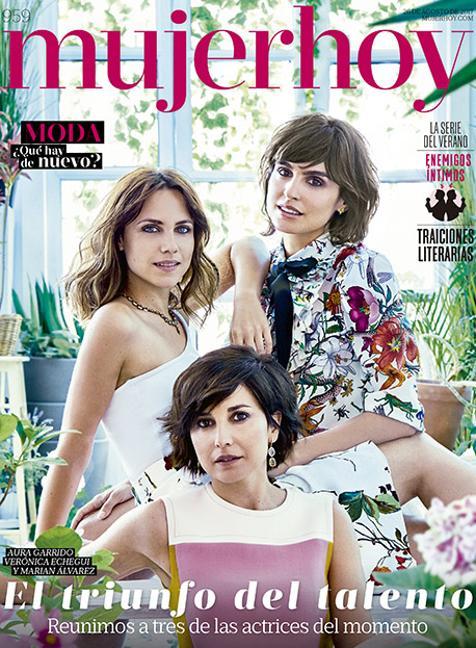 MH con Laura Garrido-Veronica Echegui y Marian Alvarez